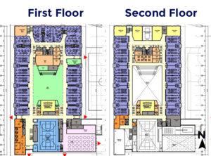 New Elementary School Interior Diagrams