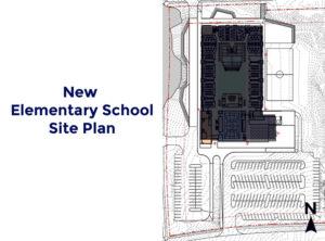 New Elementary School Site Plan Diagram